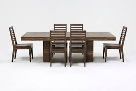 Dining Room Tables With Extensions Teagan 7 Piece Extension Dining Set Living Spaces