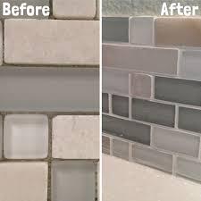grout kitchen backsplash ceramic non grout kitchen backsplash tile tips plainsc com