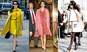 maternity style amal clooney s chic maternity style foto 1