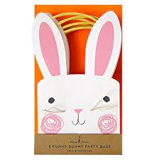 meri meri bunny easter bags easter easter