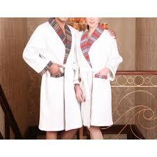 robe de chambre homme luxe robe de chambre luxe nid d abeille homme blanche achat vente