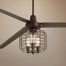 Industrial Style Ceiling Fan by 84