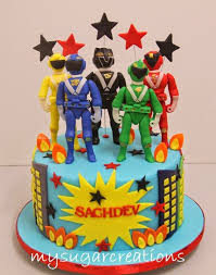 power rangers cake toppers my sugar creations 001943746 m power rangers cakes