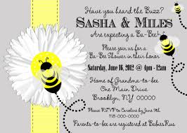 bee baby shower invitations theruntime com