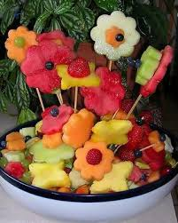 fruit displays party centerpiece with fruit