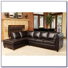 Top Grain Leather Sectional Sofa Ferrara Leather Recliner Sectional Sofa By Abbyson Living Sofas