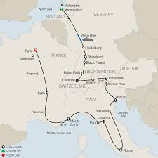 Italy And Greece Map by Multi Country European Tour Globus Escorted Tours