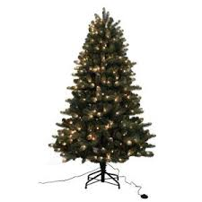 home accents 7 ft noble fir set artificial