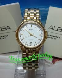 Jam Tangan Alba jam tangan wanita alba atx38p gold original murah garansi resmi
