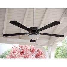 Outdoor Ceiling Fan Reviews by Farmhouse U0026 Rustic Ceiling Fans Birch Lane