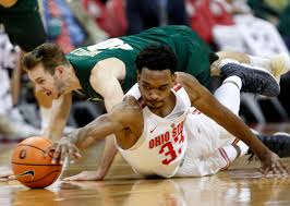 Ohio travel careers images Bates diop career high 27 in ohio state 97 62 victory boston herald jpg