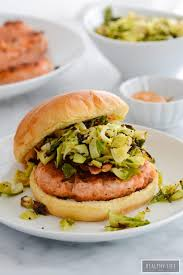 spicy salmon burgers gluten free a healthy life for me
