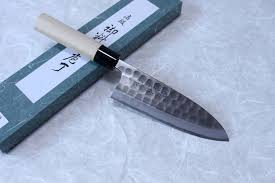 High Carbon Steel Kitchen Knives Tojiro Hammered Black Finshed Kurouchi Japanese High Carbon Steel