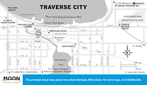 Lake Michigan Beaches Map printable travel maps of michigan moon travel guides