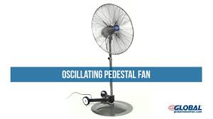 20 Inch Pedestal Fan Oscillating Pedestal Fan Youtube