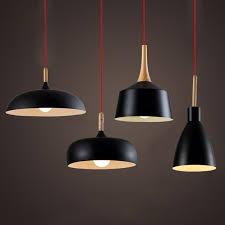 Wood Pendant Light Modern Pendant Light Nordic Style Suspension Luminaire Hanging