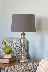 no sew lamp shade with cover buttons make it and love it now go and enjoy your shade