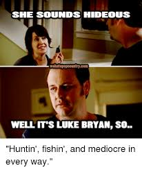 Meme Sounds - sie sounds hideous wehatepopcountrycom well it s luke bryan so