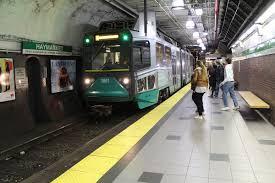 Boston T Map Green Line by Haymarket Mbta Station Wikipedia