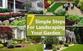 diy simple landscape designs astonish easy diy landscaping
