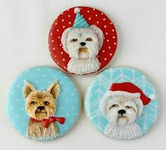 131 best dog themed sugar cookies images on pinterest decorated