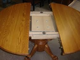 Dining Room Table Leaf - custom new solid oak wood 48