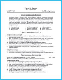 Resume Samples Network Technician by Best Cto Resume Free Resume Example And Writing Download