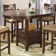 amazon com coaster home furnishings casual counter height table