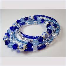 sapphire crystal bracelet images Sapphire blue swarovski crystal bracelet free shipping jewelry jpg