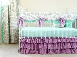 Purple Bedding For Cribs Purple And Mint Bedding Large Size Of Nursery And Green
