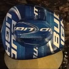 bud light beer box hat very popular bud light beer box cowboy hat os from lori s