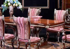barocco rectangular dining table set 112 classic dining