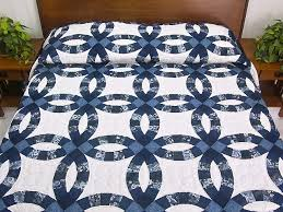 wedding ring quilt wedding ring quilt marvelous adeptly made amish quilts