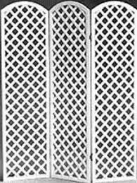 arched top room divider panels white lattice noonan grand