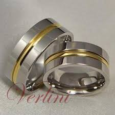 mens titanium rings 8mm mens womens titanium rings 14k gold matching set wedding