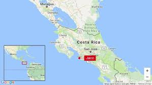 Google Maps Costa Rica Costa Rica Hit With Magnitude 6 8 Earthquake Q13 Fox News