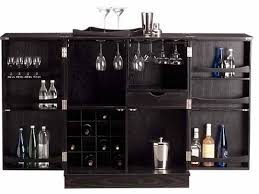 Black Bar Cabinet Furniture Natty Large Black Bar Cabinetry Design With Excellent