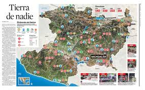 Michoacan Map Michoacán U2013 Tierra De Nadie Blog Populi Blog Dei