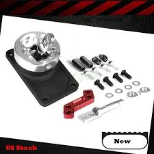 racing short knob throw quick shifter fits ford mustang