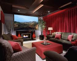 interior design for home theatre media room contemporary rec room images by beth