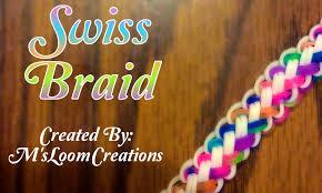 braided weave bracelet images New swiss braid rainbow loom bracelet tutorial how to jpg