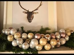 how to make you own ornament garland