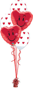 valentines ballons smile a balloon bouquet party fever
