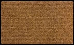 zerbino di cocco zerbino in cocco sintetico antiscivolo cm 50x80 moquette tappeto