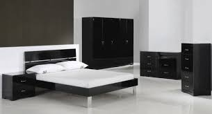 Black Furniture For Bedroom by Sophisticated Touch Creative Black Gloss Bedroom Furniture With