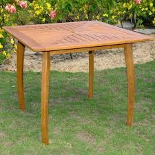 Patio Table Seats 8 Square Outdoor Table For 8 Small Square Garden Table And Chairs