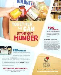 volunteer brochure template free flyer templates microsoft word food bank word flyer template