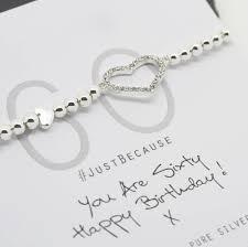 birthday charm bracelet 60th birthday charm bracelet by by poppy notonthehighstreet