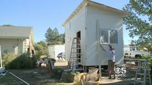 house construction company construction company to donate tiny homes to wine country fire
