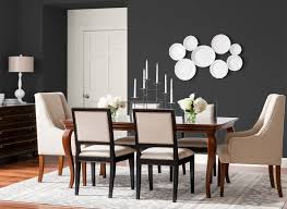 dining room in deep onyx color schemes pinterest room san